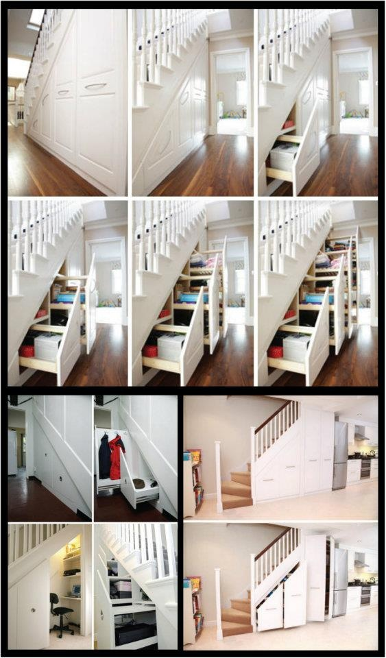 If I ever build a house or have a house that under the stairs is empty.. We will do have this what a great use for empty space not being used.