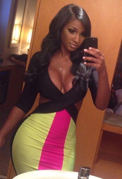 Girl selfie black hot