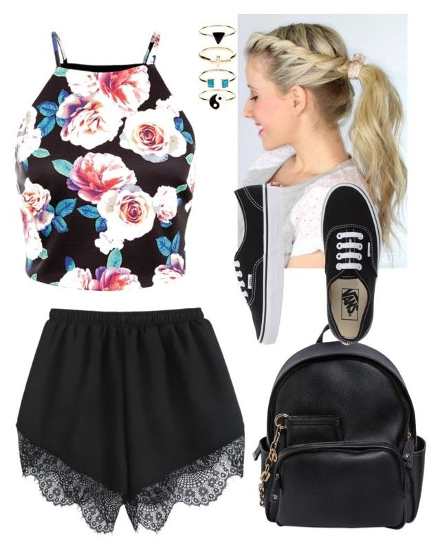 183 by ginette1999 on Polyvore featuring polyvore, fashion, style, Vans, Dsquared2, Accessorize, women's clothing, women's fashion, women, female, woman, misses and juniors
