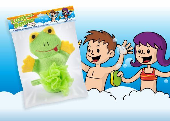 Embalagem para Esponja de Banho