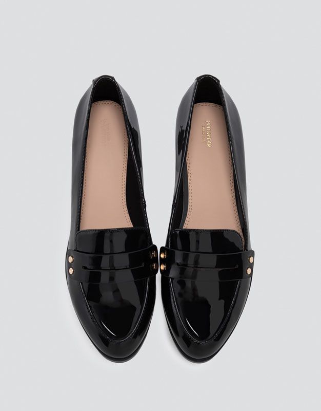 Studded loafers - Shoes - New - Woman - PULL&BEAR Croatia