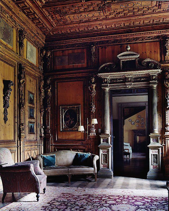 Great Gatsby Mediterranean Italian Luxury Home Villa: Simon Watson / Interiors / Piero Castellini Milan House