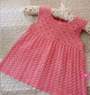 art crochet sundress for girls