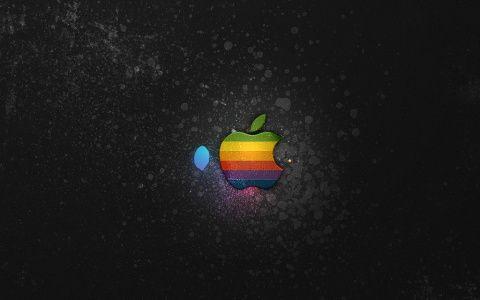 New ipad wallpaper hd - Apple Splatters iPad Wallpaper – Apple iPad Wallpapers
