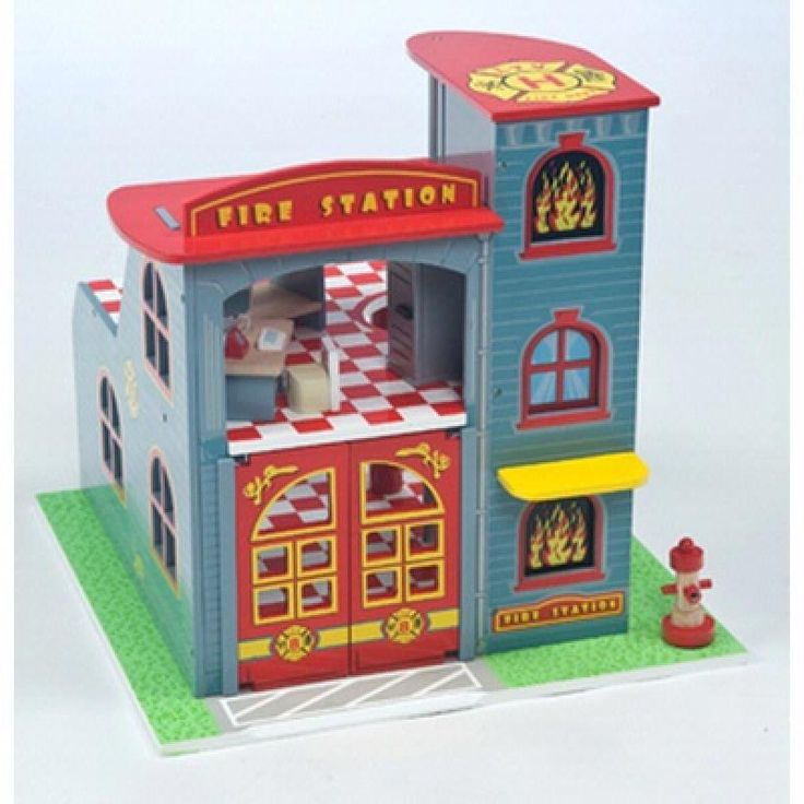 Fire Station Playset - Le Toy Van  for sale by Little Shop of Treasures. Other Le Toy Van available now at LSOT.