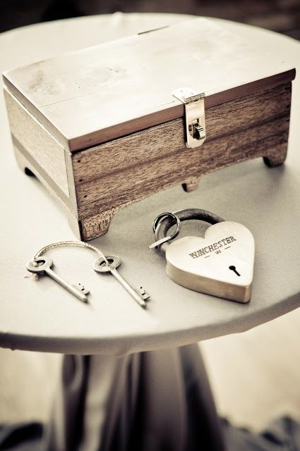 Potential Unity Ceremony- Write love letters for your 1st year anniversary and lock it away on the day of your wedding.