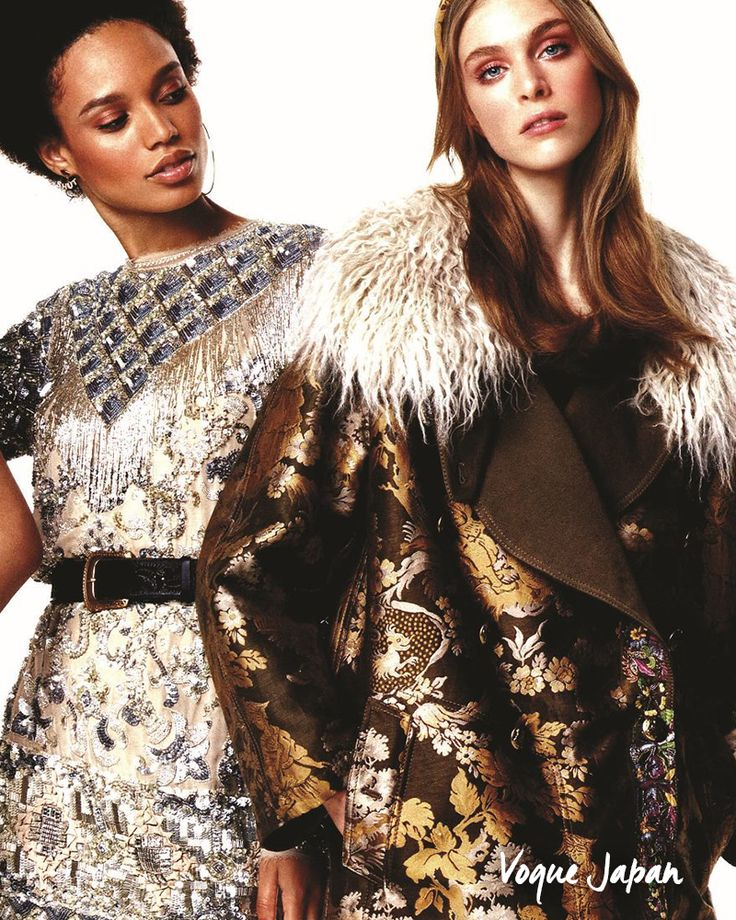 Begin the new year with shine. The Fay sequinned dress, as seen in Vogue Japan.