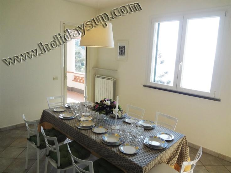 Dining room in a villa, Amalfi coast, Campania region, Italy - Holiday accommodation in Sorrento Coast