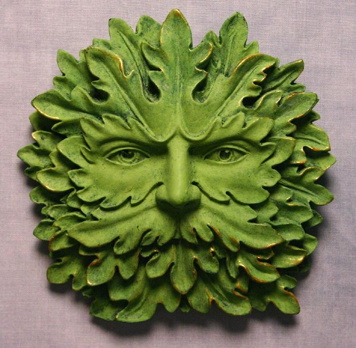 Majesty Green Man