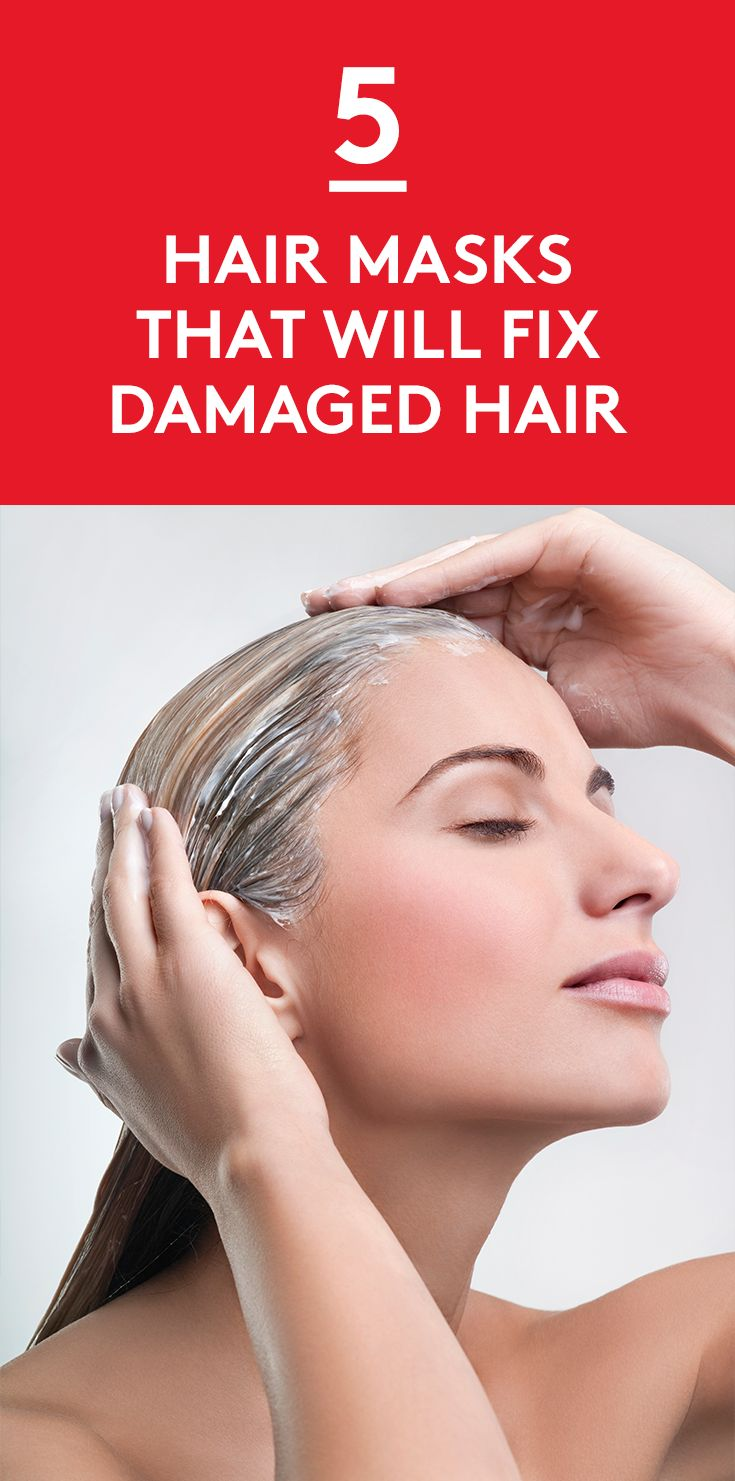 5 Hair Masks That Will Fix Damaged Hair   No matter what sort of damage you've done to your hair—dye jobs, heat, or sun exposure—these masks will help repair your strands.