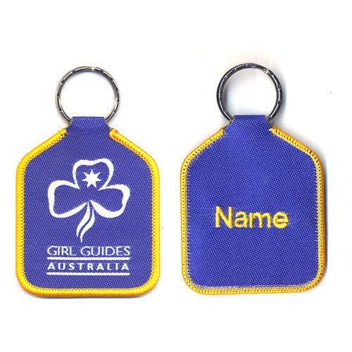 Woven Girl Guides Australia Bag Tag