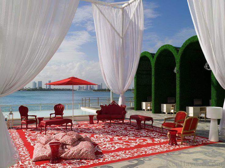 mondrian cabana | Mondrian Miami Beach Concierge Lobby designed by Marcel Wanders for ...