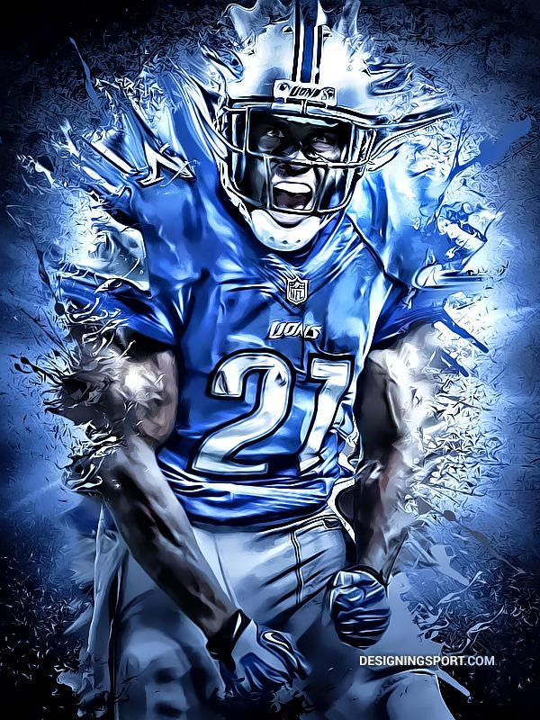 Reggie Bush, Detroit Lions