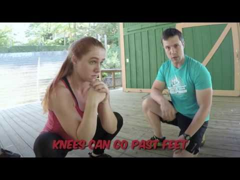 5 Common Mistakes When Doing a Bodyweight Squat | Nerd Fitness