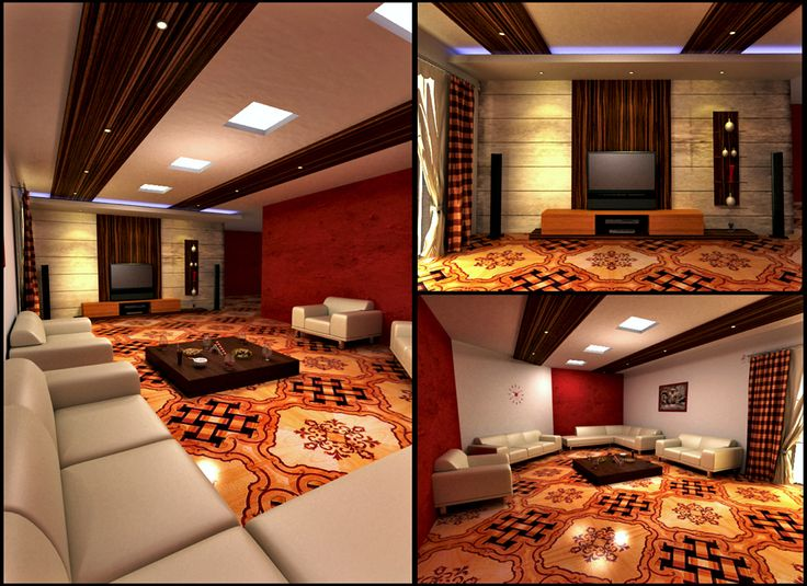 Living Room—Interior Design