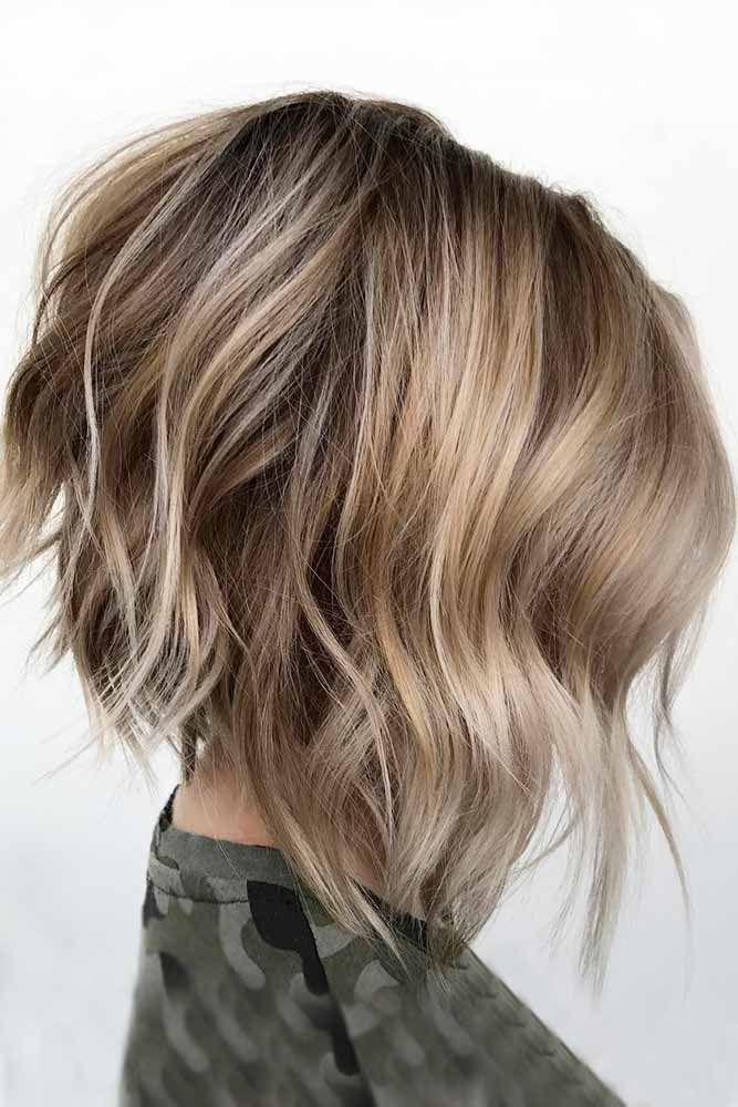 #Bob, #Haircut, #Ideas, #Messy, #Picture2 haircut.haydai.co…