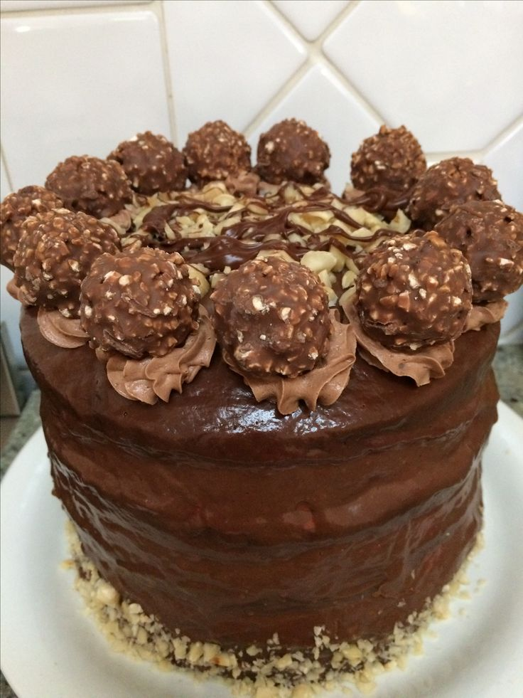 Chocolate Nutella cake!