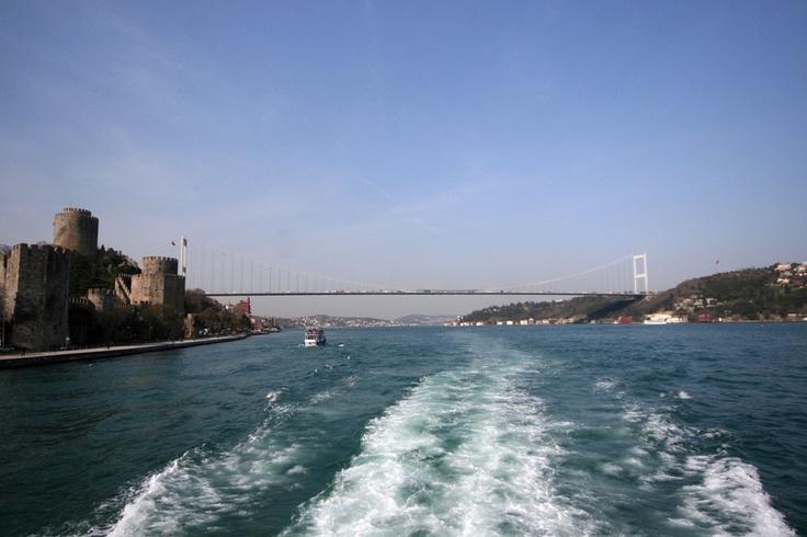 Fatih Sultan Mehmet Bridge and Rumeli Castle