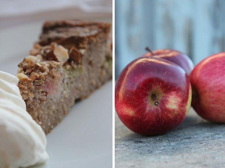 Mat for sjelen...: Eplekake - glutenfri, sukkerfri og lavkarbo...