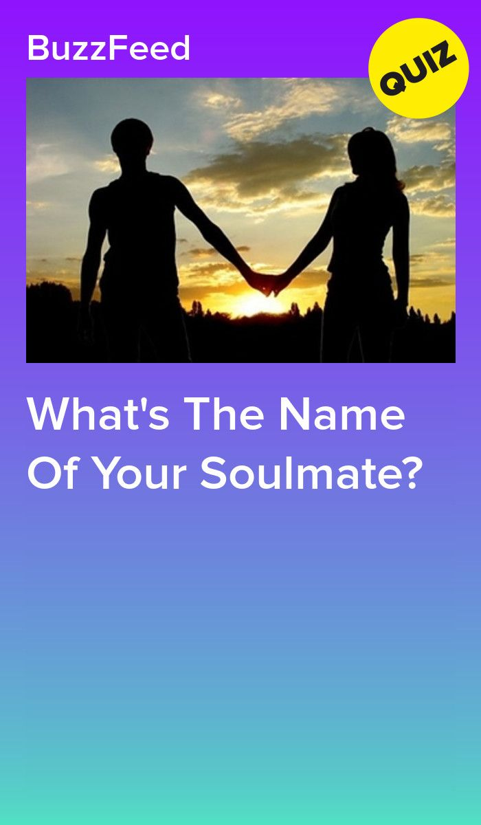 Will quiz my soulmate who be How Old