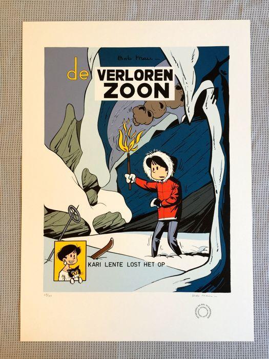 Mau, Bob - Zeefdruk uitg. De Bol - Kari Lente - De verloren zoon - 1e druk - (1996) - W.B.