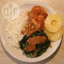 Andijvie met kip en rijst @ allrecipes.nl