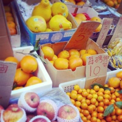 Beautiful Citrus in Hong Kong by Kate Bergmann- Mona and Midge - blog