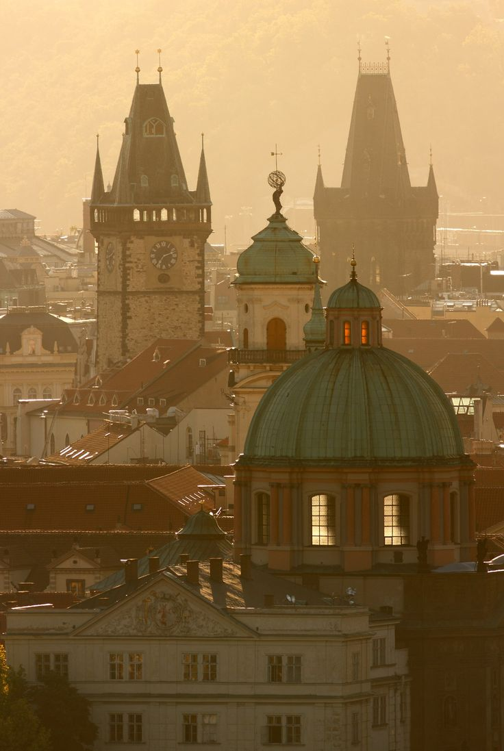 De Oude Toren in Praag Foto:Michal Vitásek ©CzechTourism www.czechtourism.com