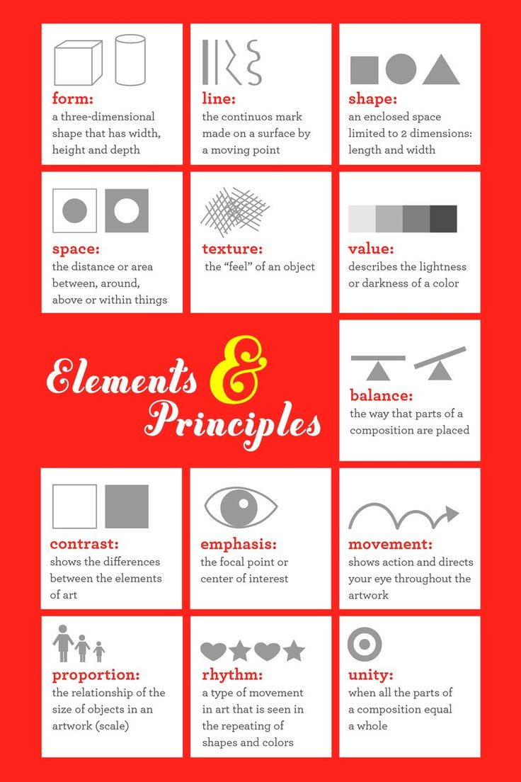 Visual Elements And Principles : Best worksheets for school images on pinterest