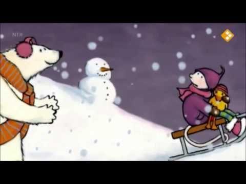 Bo en Babs in de sneeuw (digitaal prentenboek) Hele digitale borden van Marjola