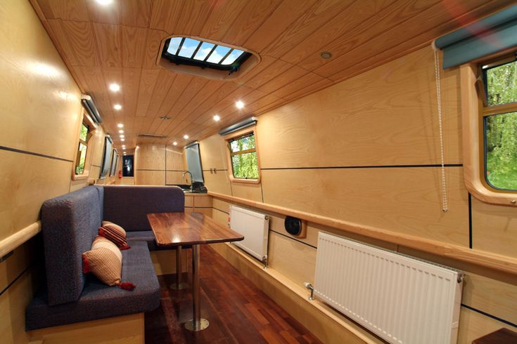 houseboat narrow boat UK interior Houseboats vessels and barges