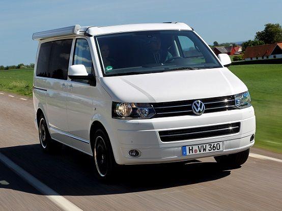 """Volkswagen T5 California """"Beach"""" (2009)."""