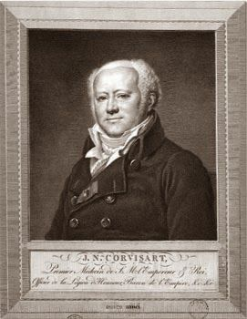 Jean Nicolas Corvisart (1755-1821), professeur de clinique médicale et médecin de Napoléon Bonaparte.