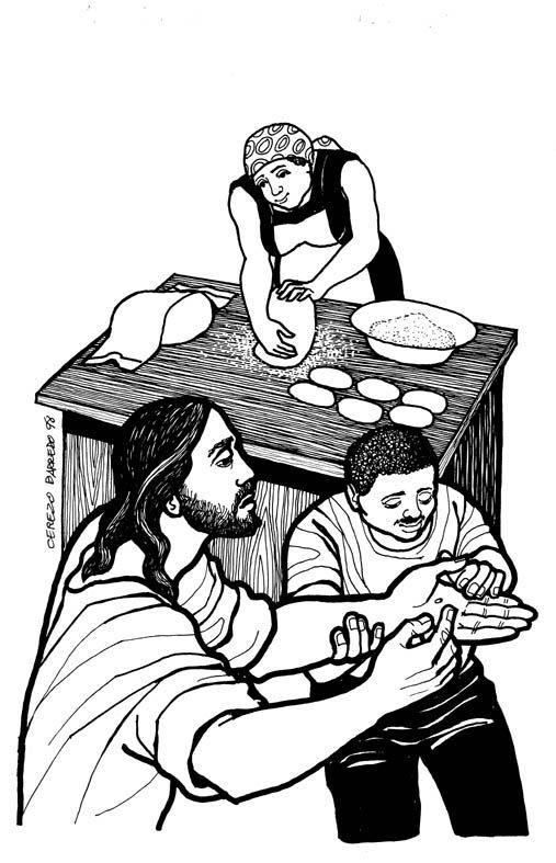 PARROQUIA SAN XOÁN DE FORNELOS: DOMINGO XVI DO TEMPO ORDINARIO A (20 de Xullo)