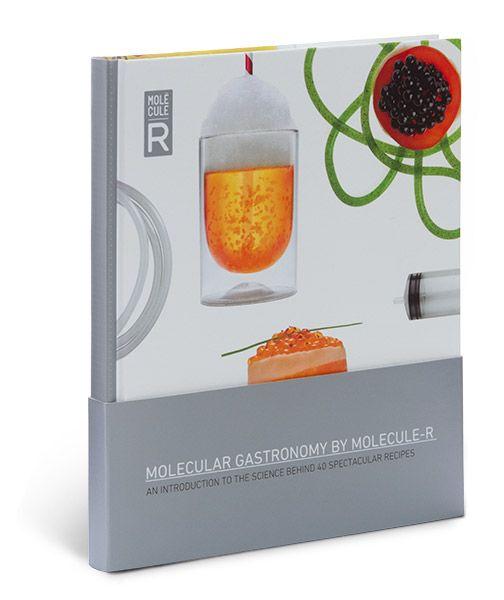 Molecular Gastronomy by MOLECULE-R Cookbook $24.95