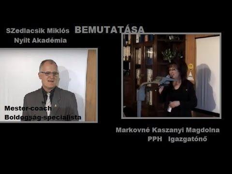 Elismert Mester -Coach bemutatása. PPH Szedlacsik Miklós