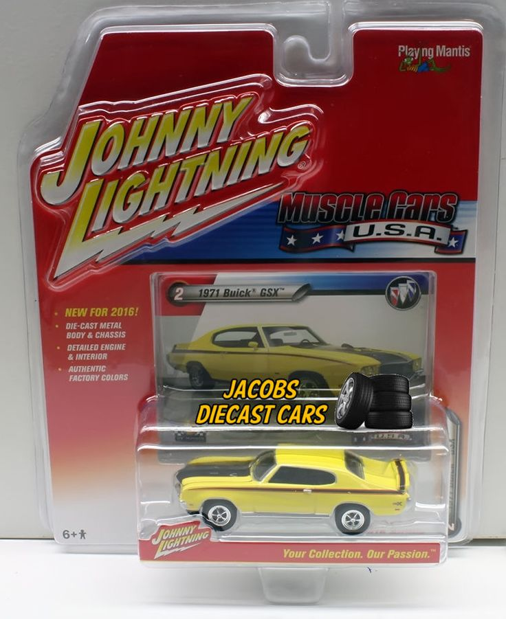 Best Collectibles Johnny Lightning Cars Images On Pinterest