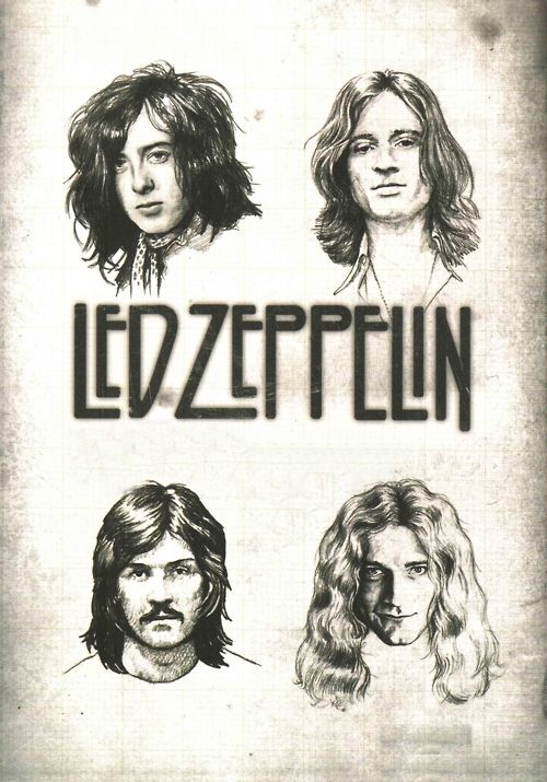 Led Zeppelin. We've done four already but now we're steady, and then they went: one.. two.. three.. four!