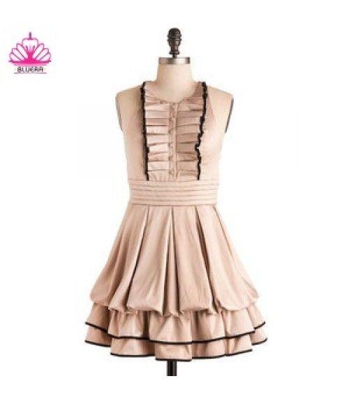 Dress velvet lembut untuk gaya pesta Si Kecil :* Lolita Mini Dress..