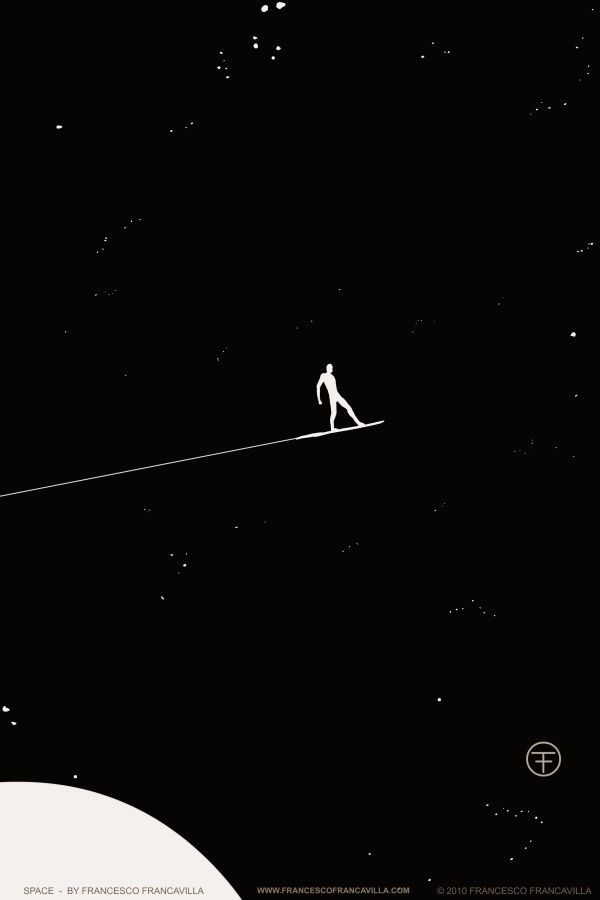 Space, by Francesco Francavilla  Silver Surfer art @Jaramiah Jacobs Jacobs