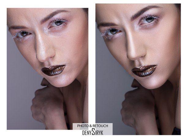 Денис Сирик retouching Before & After