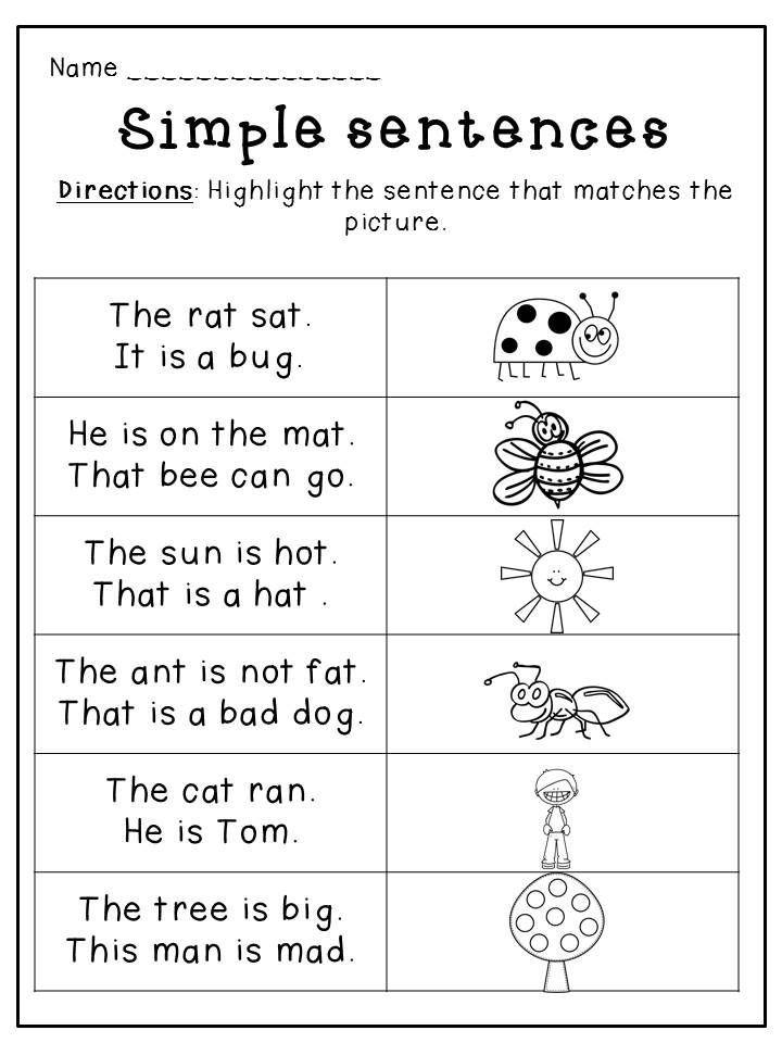 Kinder Reading Comprehension Starting Letter E Kindergarten Reading Worksheets Phonics Reading Reading Comprehension Kindergarten