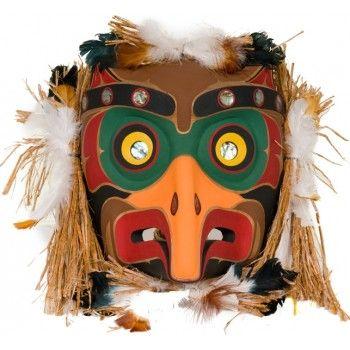 Owl Mask by Leonard Scow (Kwakwaka'wakw).