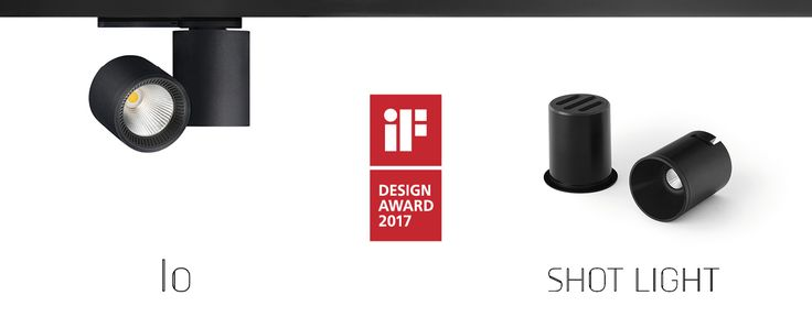 Shot Light & Io, IF Design Award | Arkoslight
