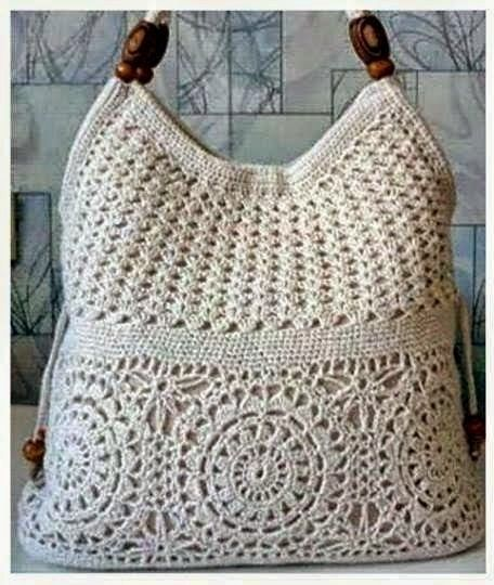 Ivelise Feito à Mão: Bolsa De Crochê