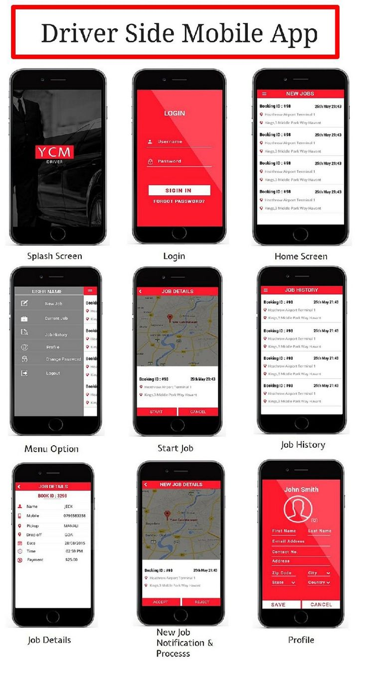 Taxi Booking App to grow your Taxi Business Driver app