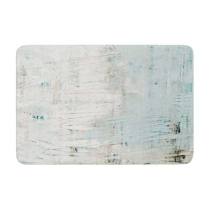 KESS InHouse Iris Lehnhardt Bluish Neutral Memory Foam Bath Mat - IL2065ABM01