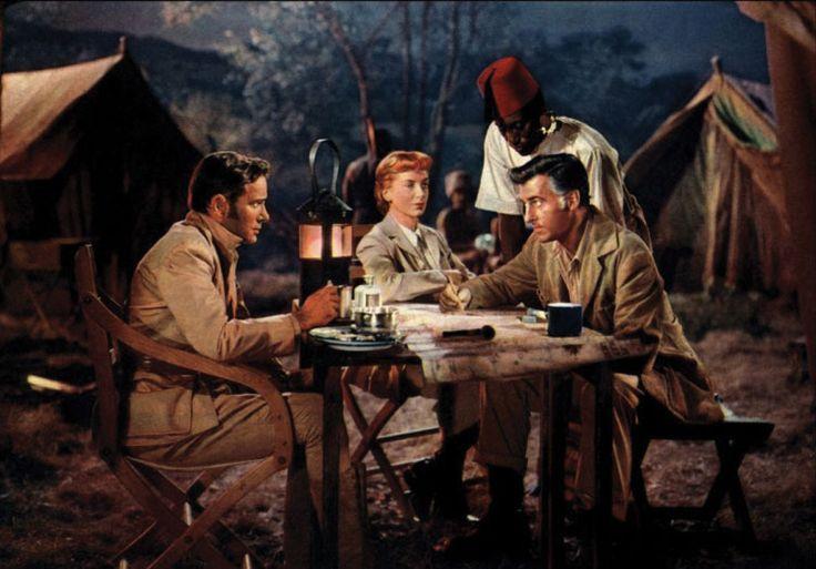 Richard Carlson, Deborah Kerr and Stewart Granger, King Solomon's Mines (1950)