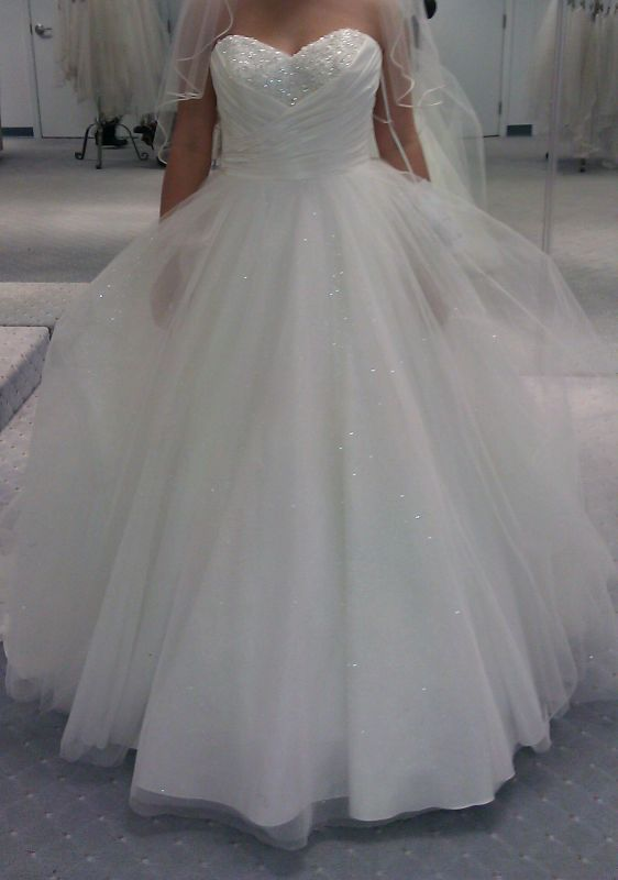 Alfred angelo disney fairytale wedding dress cinderella for Cinderella inspired wedding dress