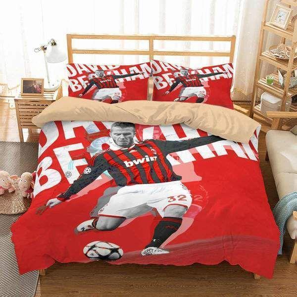 David Beckham 3d Personalized Customized Bedding Sets Duvet Cover Bedroom Sets Bedset Bedlinen Duvet Bedding Sets Customised Bed Duvet Cover Sets